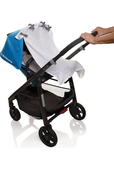 Dream Baby Bebek Arabası Puset Gölgelik Mandalı 4 Adet - Gri