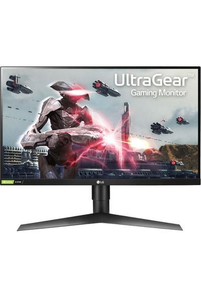"""LG 27GL650F-B 27"""" 144Hz 1ms (HDMI+Display) Full HD Freesync IPS Monitör"""