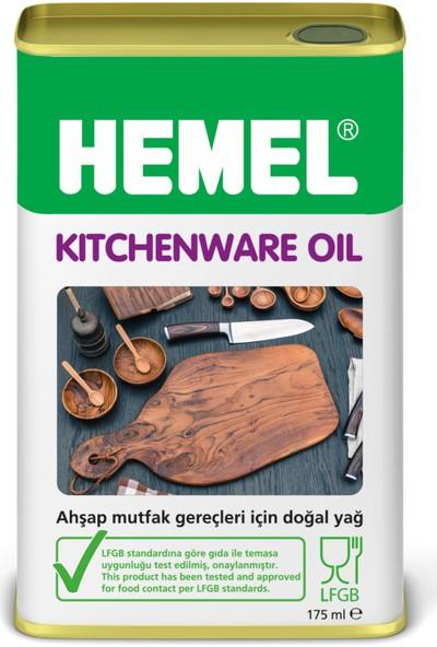 HEMEL Kitchenware Oil Ahşap Mutfak Gereçleri Için Doğal Yağ 175 ml