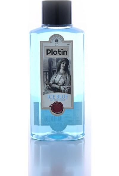 Platin 400 ml Pvc Şişe Ice Blue Kolonyası