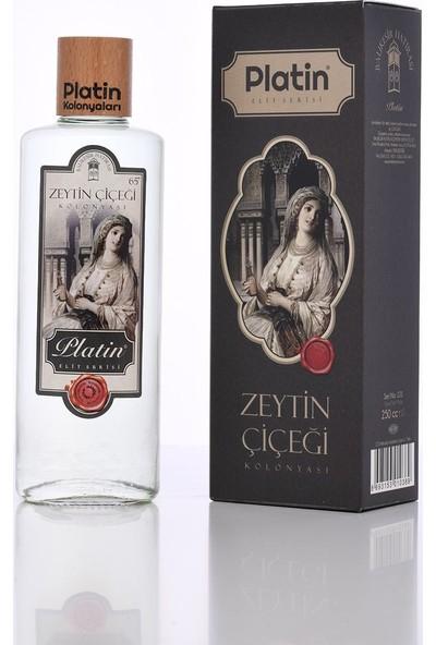 Platin Elit Serisi 250 ml Cam Şişe Zeytin Kolonyası