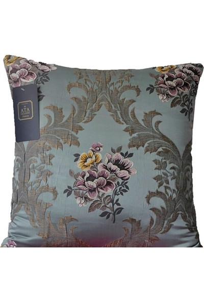 Ata Exclusive Fabrics Mimoza Serisi Damask Dekoratif Kırlent
