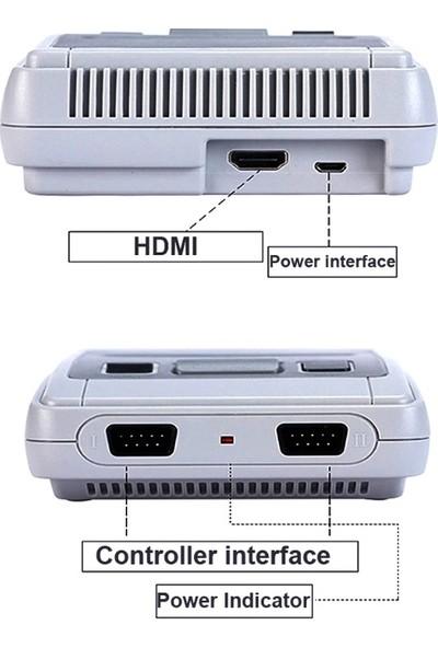 Atari Oyun Konsolu Kollu Mini Ateri Nostalji 621 Oyunlu