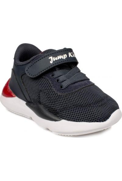 Jump 24745 B Cırtlı Lacivert Çocuk Spor Ayakkabı
