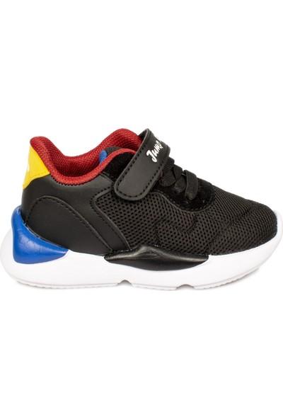 Jump 24745 B Cırtlı Siyah Çocuk Spor Ayakkabı