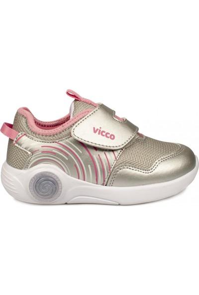 Vicco Phylon Işıklı Gümüş Çocuk Spor Ayakkabı