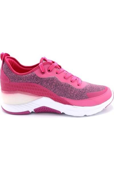 Bewıld G19041 Kadın Rahat Taban Yazlık Sneaker