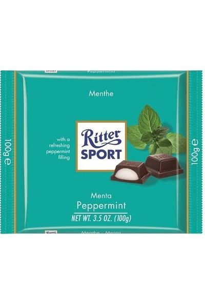 Ritter Sport Çikolata Nane Dolgulu 100 gr