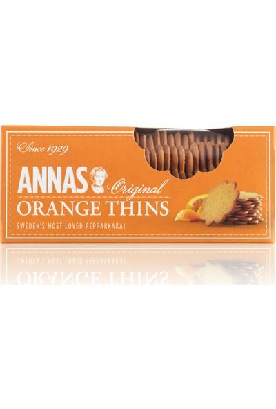 Annas Orange Thıns - 150 gr x 12'li
