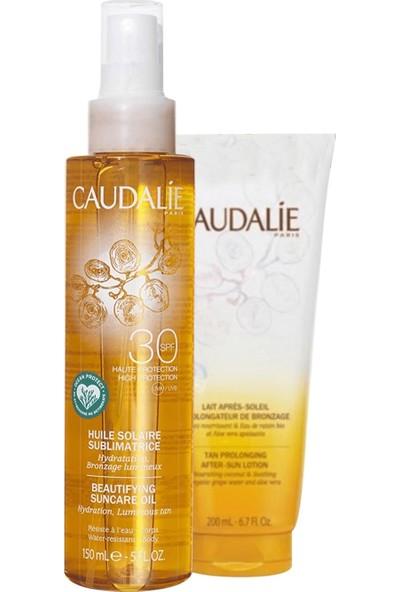 Caudalie Soleil Divin Beautifying Suncare Oil Set