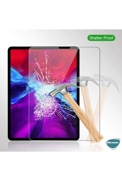 Microsonic Apple iPad Pro 12.9'' 2020 4. Nesil (A2229-A2069-A2232) Temperli Cam Ekran Koruyucu