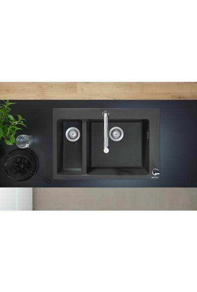 Hansgrohe S510 - F635 Granit Eviye 180/450