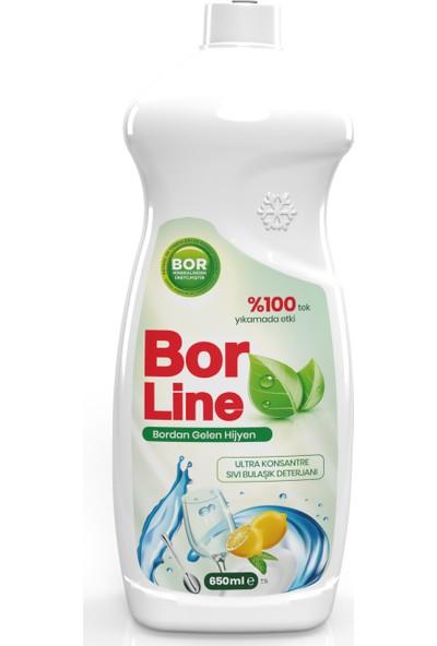 Borline Bor Katkılı 650 ml Bulaşık Deterjanı (1 Adet)