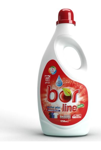 Borline Bor Line Active Plus Sıvı Deterjan Tüm Renkler 40 Yıkama 1,75 lt