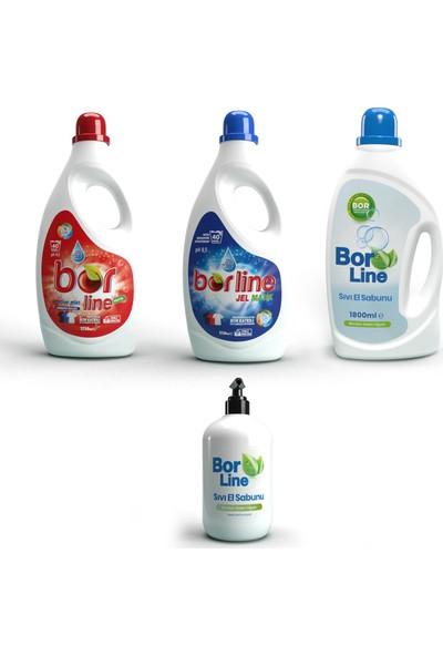 Borline Bor Katkılı 4'lü Temizlik Paketi