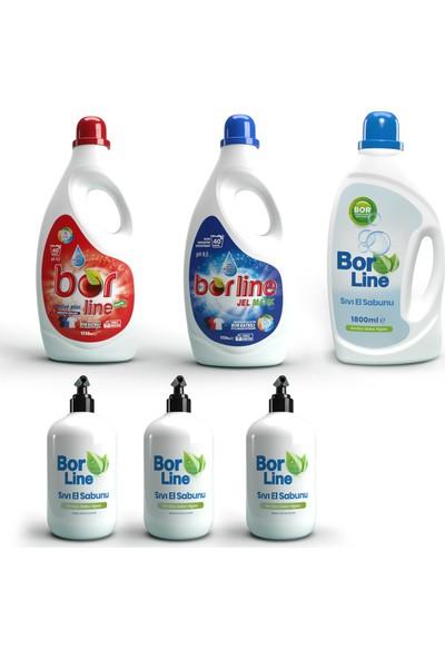 Borline Bor Katkılı 6'li Temizlik Paketi