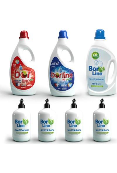 Borline Bor Katkılı 7'li Temizlik Paketi