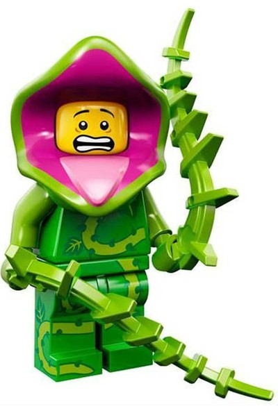 LEGO Minifigür 71010 - Seri 14 Monsters - Plant Monster