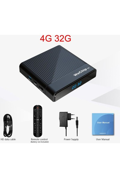 Wechip V9 Android Tv Box 4gb Ram + 32GB Rom