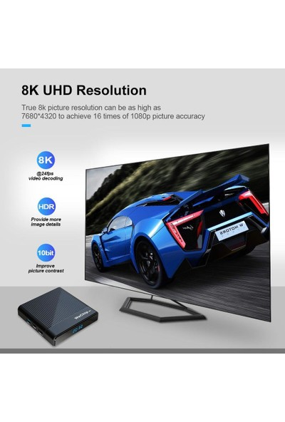 Wechip V9 Android Tv Box 2gb Ram + 16GB Rom
