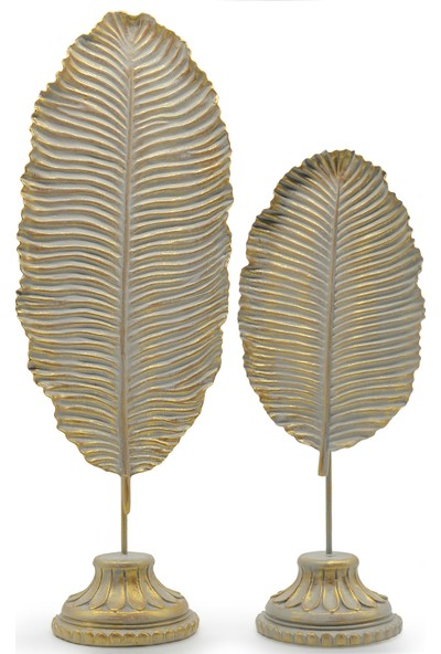 Ecehan Yaprak Dekor 14 x 37 cm