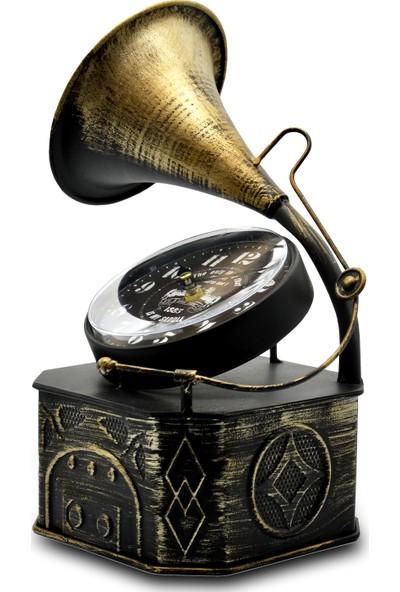 Ecehan Natürel Gramafon 17 x 32 cm