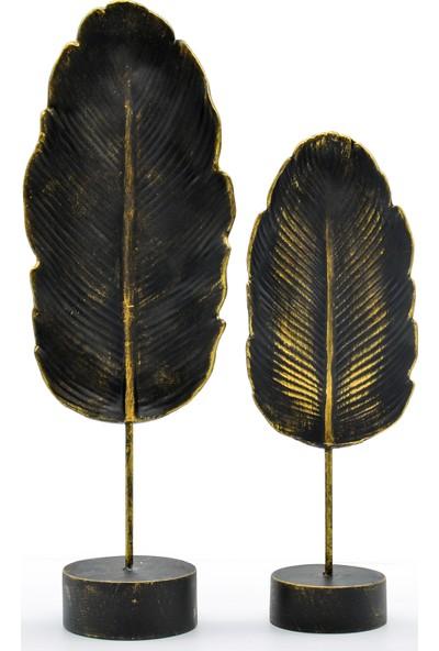 Ecehan Yaprak Dekor 10 x 32 cm