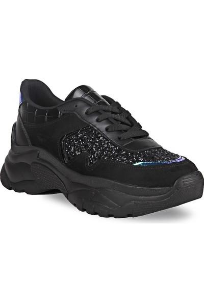 Crash Kadın Sneaker 14606 Siyah 36