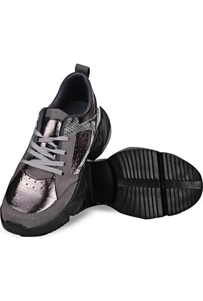 Crash Kadın Sneaker 14-613 Siyah 37