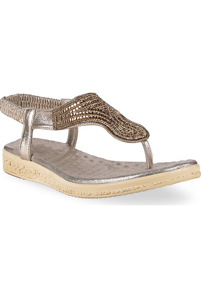 Crash Kadın Sandalet 72-01 Altın 36