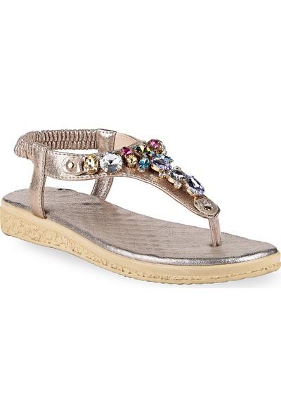Crash Kadın Sandalet 72-02 Altın 36