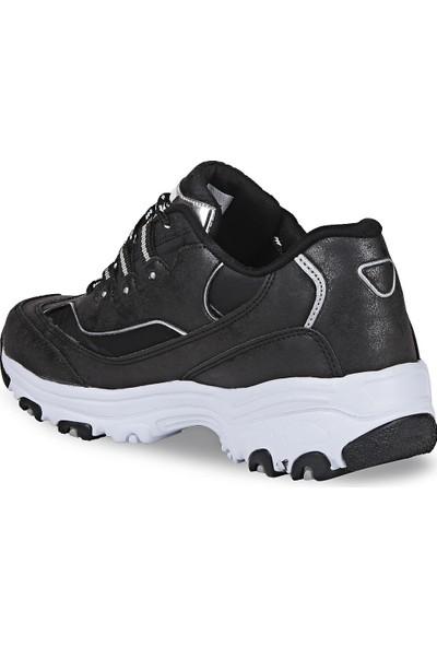 Crash Kadın Sneaker 92-01 Siyah Paraşüt 37