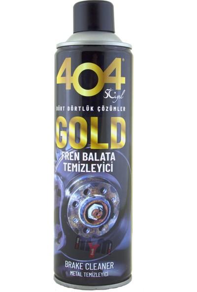 404 Gold Fren Balata Temizleyici Sprey 500 ml 4'lü Set