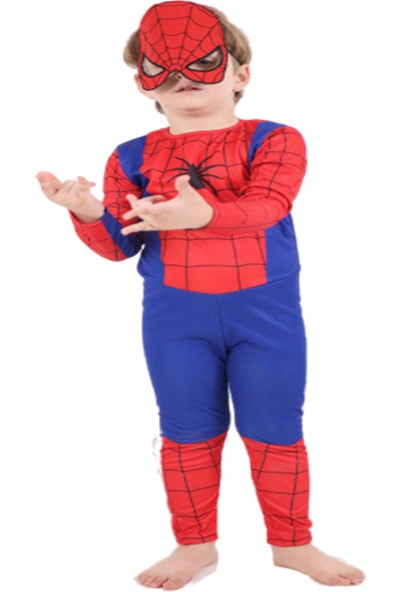 Ekbebek Örümcek Adam Spiderman Kostümü