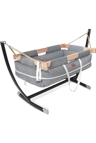 Kiwi Milano Metal Platformlu Bebek Hamağı - Gri