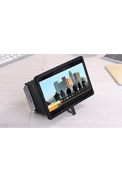 CoverZone Cep Telefonu Ekran Genişletici Projektör 3D HD Ekran Stand