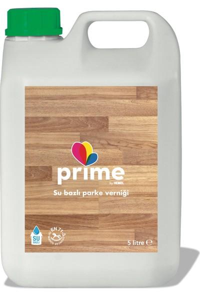 HEMEL Prime Parke Cilası İpek Mat 5 lt