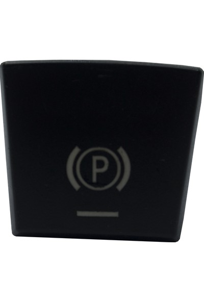 Bross Otomotiv BDP981 Bmw 5 6 7 F Series X3 X4 İçin El Fren Düğmesi Kapağı 61316822518