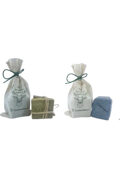 F. Ç. Naturel Sabunlar Defne Sabunu ve Karbon Sabunu 2'li Paket