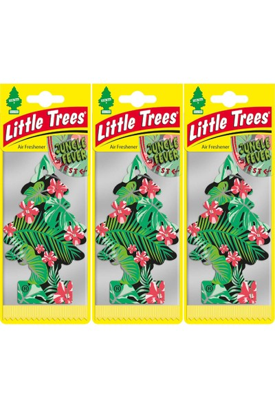 Little Trees Oto Kokusu 3'lü Orman Ateşi