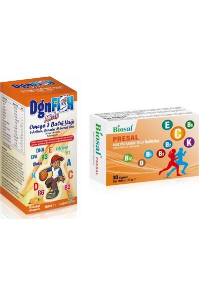 Fish Kids Omega 3 Balık Yağı + Multivitamin Kapsül