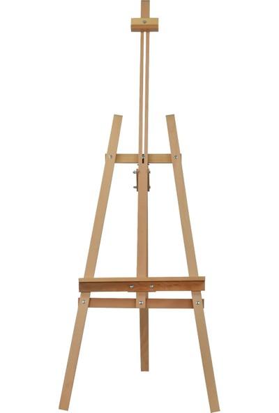 Eğiten Ahşap Resim Ressam Sehpası Ayarlanabilir Şövale 172 cm