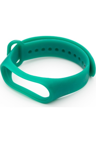 Nomino Mi Band 3/4 Akıllı Bileklik Kordonu Yeşil