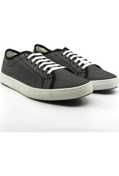 ALPHAONE Gri Keten Erkek Sneaker