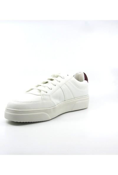 ALPHAONE Beyaz Erkek Sneaker