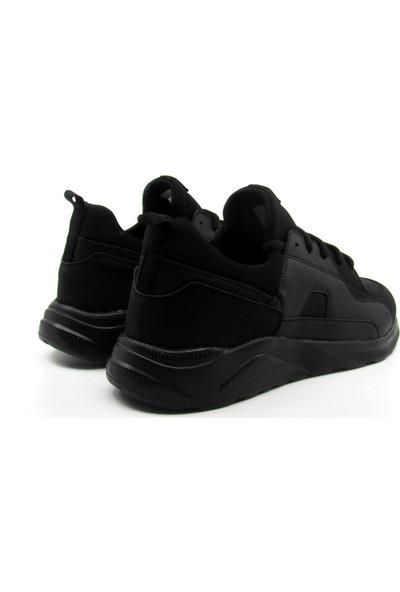 ALPHAONE Siyah Erkek Sneaker