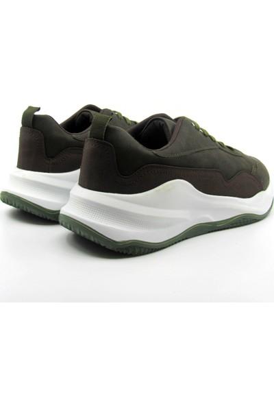 ALPHAONE Haki Erkek Sneaker