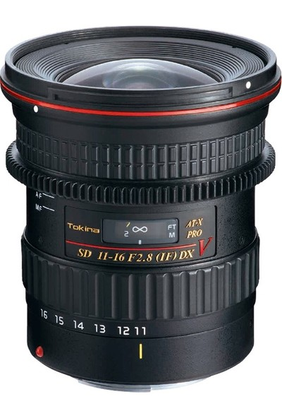 Tokina 11-16 mm F2.8 Pro Dx V Video Lens Nikon Uyumlu