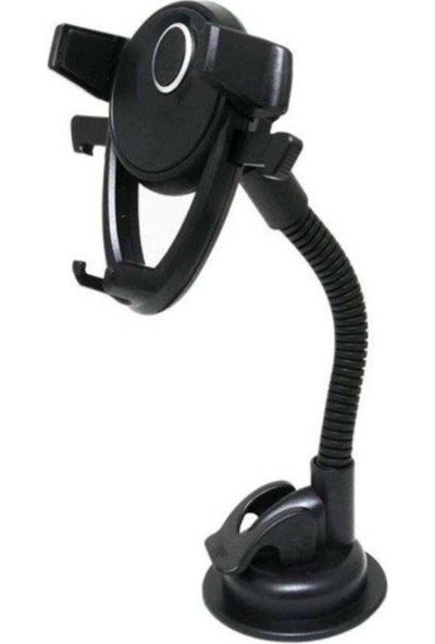 Wlue 2in1 Vantuzlu ve Sıkıştırmalı Araç İçi Telefon Tutucu