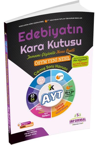 İnformal Yayınları YKS - AYT Edebiyatın Kara Kutusu 2020 Konu Özetli Soru Bankası